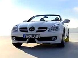 Video: Mercedes-Benz SLK – projížďka s modelem roku 2008