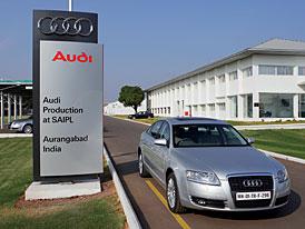 Audi A6: z indické výrobny na indický trh