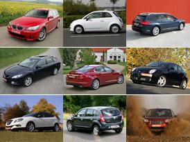 Auto.cz: Přehled testů vydaných v roce 2008