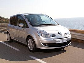 Renault Grand Modus: ceny na českém trhu, krátký Modus v ČR končí