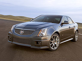 Cadillac CTS-V: supersedan podle amerického receptu
