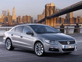 Volkswagen Passat CC: první fotografie a podrobné informace