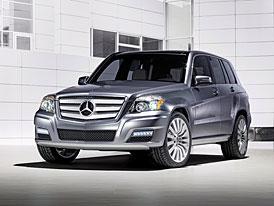 Mercedes-Benz Vision GLK TOWNSIDE: městská strana GLK