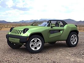 Jeep Renegade Concept: minimalistický roadster do terénu