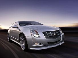 Cadillac CTS Coupe Concept: oslava designu luxusní americké značky