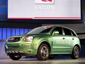 Saturn Vue Green Line Plug-in Hybrid: Antara jako prvn� s nap�jen�m ze z�suvky?