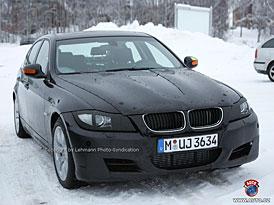 Spy Photos: BMW 3 - bude stačit facelift proti nové A4 a třídě C