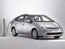 Toyota: do roku 2010 začneme prodávat hybridy s li-ion akumulátory a napájením ze sítě