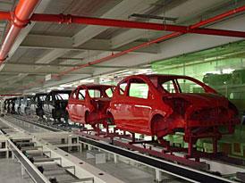 Výroba aut v ČR (2010) vzrostla o 7 % na 1,04 mil. vozů