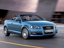 Audi A3 Cabrio: vítr ve vlasech - nové fotografie