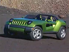 Video: Jeep Renegade Concept – mimo asfalt na elektřinu