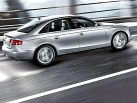Audi: nové motory 1,8 TFSI (88 kW) pro A4 a 1,8 TFSI (125 kW) pro A5. Nová A4 na českém trhu pod 800 tisíc Kč