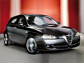 Alfa 147 1.6 Twin Spark Corse: akční Alfa za 519 tisíc Kč