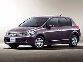 Nissan Tiida: modernizace prozatím jen pro Japonsko