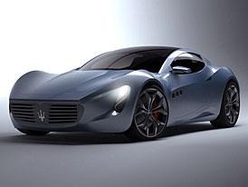 Maserati Chicane: studentská vize sportovního kupé slavné značky