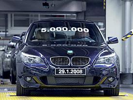 BMW �ady 5: p�t milion� vyroben�ch voz� v p�ti generac�ch