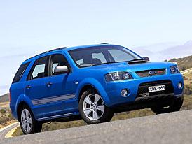 Ford Territory F6X: zdivočelé australské SUV