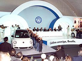 Volkswagen de México: 10 let výroby New Beetle, nová generace potvrzena