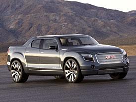 GMC Denali XT Concept: čtyřdveřový pickup s hybridním pohonem na etanol
