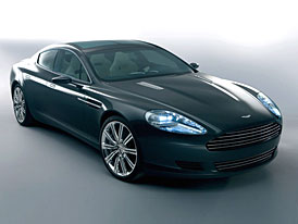 Aston Martin pro Rapide pou�ije audio syst�m Bang & Olufsen