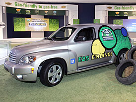 Chevrolet HHR E85: ekologický retro model