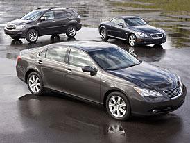 Lexus letos ztratí pozici nejprodávanější luxusní značky v USA