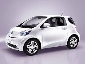 Toyota iQ: Hodnotnější interiér pro stylový microcar