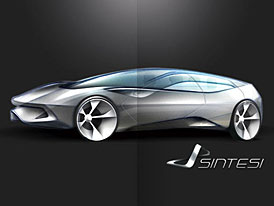 Pininfarina Sintesi: auto jako součást složitého systému