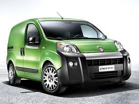 Fiat Fiorino na českém trhu: ceny začínají na 260.000,- Kč