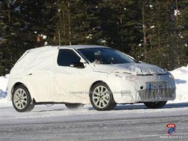 Spy Photos: Třetí generace Renaultu Megane potvrzena na druhou polovinu roku 2008