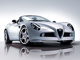 Alfa Romeo 8C Competizione Spider: První fotografie a informace