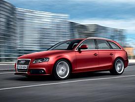 Audi A4 Avant: elegance i symbolické vítězství prostoru (nové fotografie)