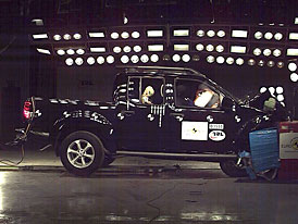 Euro NCAP: Nissan Navara odjel s podprůměrným výsledkem, jedinou hvězdou