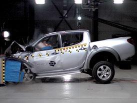 Euro NCAP: Mitsubishi L200 – i pick-up může být bezpečný