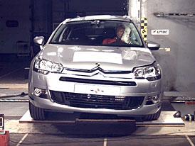 Euro NCAP: Pět hvězd pro Citroen C5