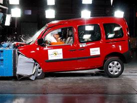 Euro NCAP: Renault Kangoo jako ochránce dětí
