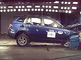 Euro NCAP: BMW X3 pouze se čtyřmi hvězdami