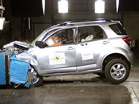Euro NCAP: Daihatsu Terios - malé SUV se čtyřmi hvězdami