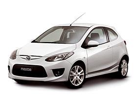 Mazda 2: nové fotografie třídveřového provedení