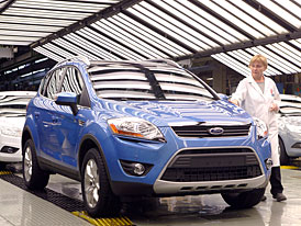 Ford začal v Saarlouis vyrábět nový crossover Kuga