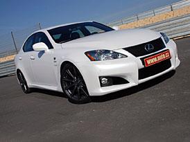 První jízdní dojmy: Lexus IS-F - s pětilitrem po okruhu