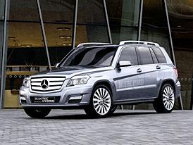 �eneva �iv�: Mercedes-Benz Vision GLK hybrid - SUV bez v�ru v n�dr�i