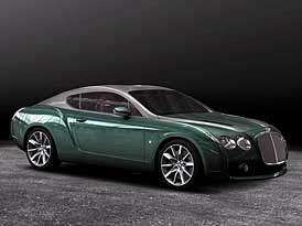 Bentley Continental GTZ: anglický aristokrat s kabátem od Zagata (nové fotografie)