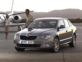 Český trh v roce 2009 (střední třída): Vláda trojice Superb, Passat a Mondeo pokračuje