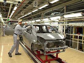 ACEA: Výroba aut v Evropě v prvním čtvrtletí roku 2009 klesla o 35 %