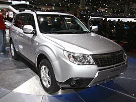 Ženeva živě: Subaru Forester – první dojmy
