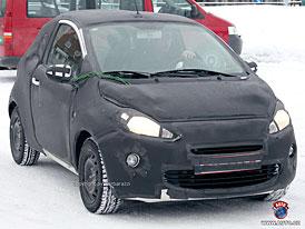 Spy Photos: Nový Ford Ka - Bude to jen nově oděný Fiat 500?