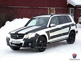 Spy Photos: Mercedes-Benz GLK připraven ke startu