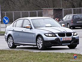 Spy Photos: BMW 3 po faceliftu (nové fotografie) + prodeje v luxusním segmentu střední třídy v Evropě