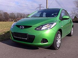 Ti nejlepší na MOJE.AUTO.CZ: Mazda 2 1.3 TE Spirited Green (2008)